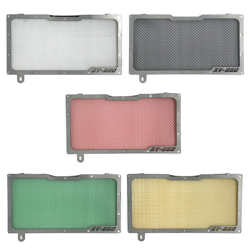 5 Colors Motorcycle Aluminium Radiator Side Guard Grill Grille Cover Protector for Suzuki SV 650 2005 2006 2007 2008 2009 2010