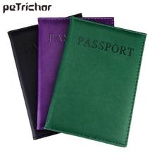 New Fashion PU font b Card b font font b Holder b font Women Travel Passport