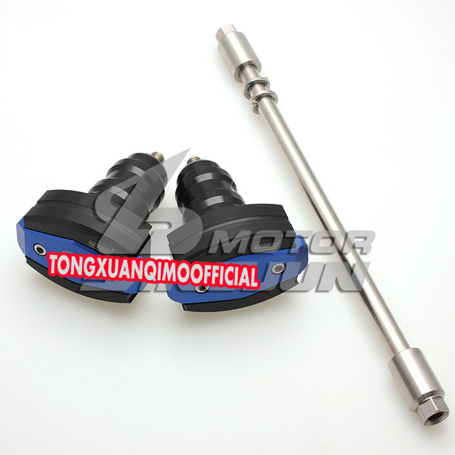 high quality cnc Motorcycle frame sliders crash engine tank ...