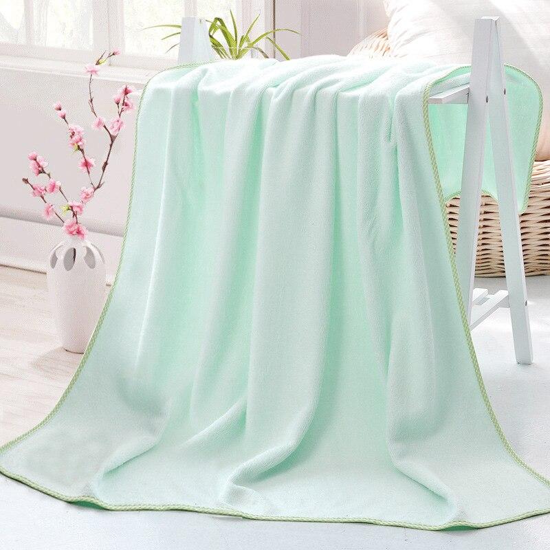 Νέα Μπλε 100% Bamboo Fiber Πετσέτες Home 110x130cm - Αρχική υφάσματα - Φωτογραφία 3