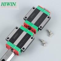 1pcs Hiwin linear guide rail HGR20 -L 1500mm  +2pcs HGW20CA flanged blocks bearings carriage for cnc