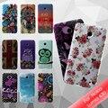 Coque capa funda para nokia lumia 630 rosas bonitas glossy tpu case para nokia lumia 630/630 dual sim