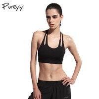 Pureyiyi 2017 Women S Fitness Crop Top Sleeveless Backless Summer Casual Black White Top Women Short