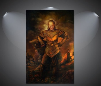 Ghostbusters Vigo the Carpathian Vintage silk Poster Wall Decor12x18 24x36 inch image