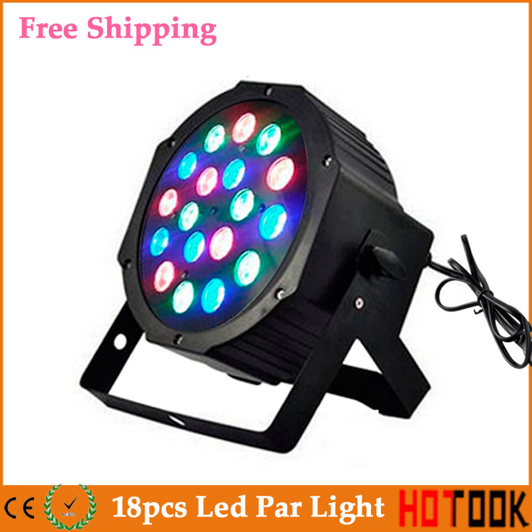 18x3W 12W RGB RGBW Led Stage Par Light Sound Active DMX512 Equipment Disco DJ Lighting projector machine Party 110V 220V X 4pcs djeco игра eduludo фигуры с 3 лет