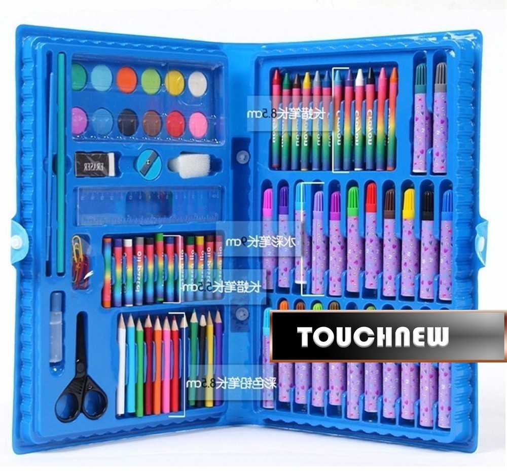 deli child puzzle stationery gift set toy paint brush crayon watercolor pen primary school students gift supplies Deli Child puzzle stationery set toy paint brush crayon watercolor pen school students gift supplies drawing pencil kit