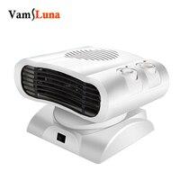 500 w 220 v elétrica do agregado familiar fresco & quente ventilador de ar mais quente headshake ventilador aquecedor de radiador de ar