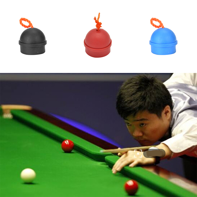 2PCS Rubber Chalk Holder For Billiard Pool Snooker Table Cue Stick Club Pool  Table Snooker Accessories