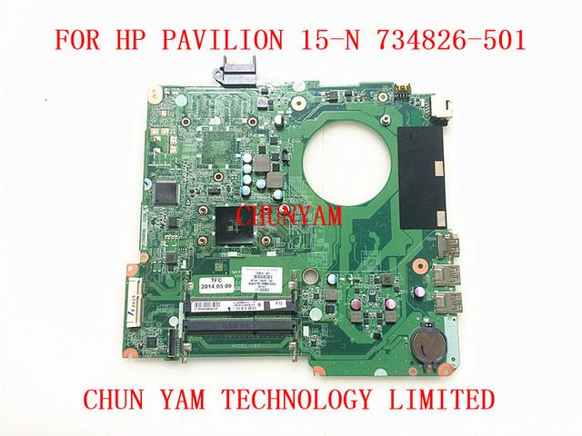 734826-501 para hp pavilion 15 15-n serie placa madre del ordenador portátil da0u93mb6d0 rev: d a4-5000 mainboard 100% probó garantía de 90 días