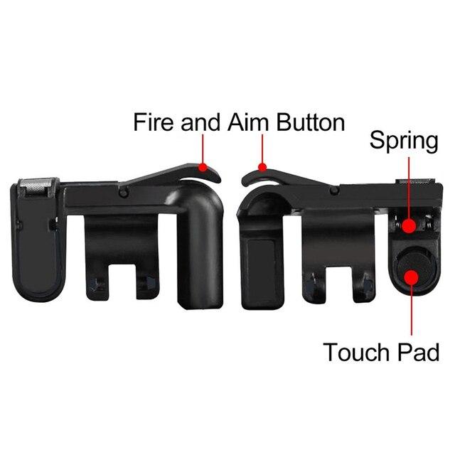 Fortnite Téléphone Gamepad Trigger Feu Bouton Objectif Clé Smart téléphone Mobile Jeux L1R1 Shooter Contrôleur PUBG V3.0 pour Iphone Xiaomi 3