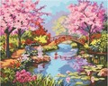 Draw a picture of the numbers landscape canvas painting wall art in bedroom coloring by numbers acrylics 40X50cm AOP003
