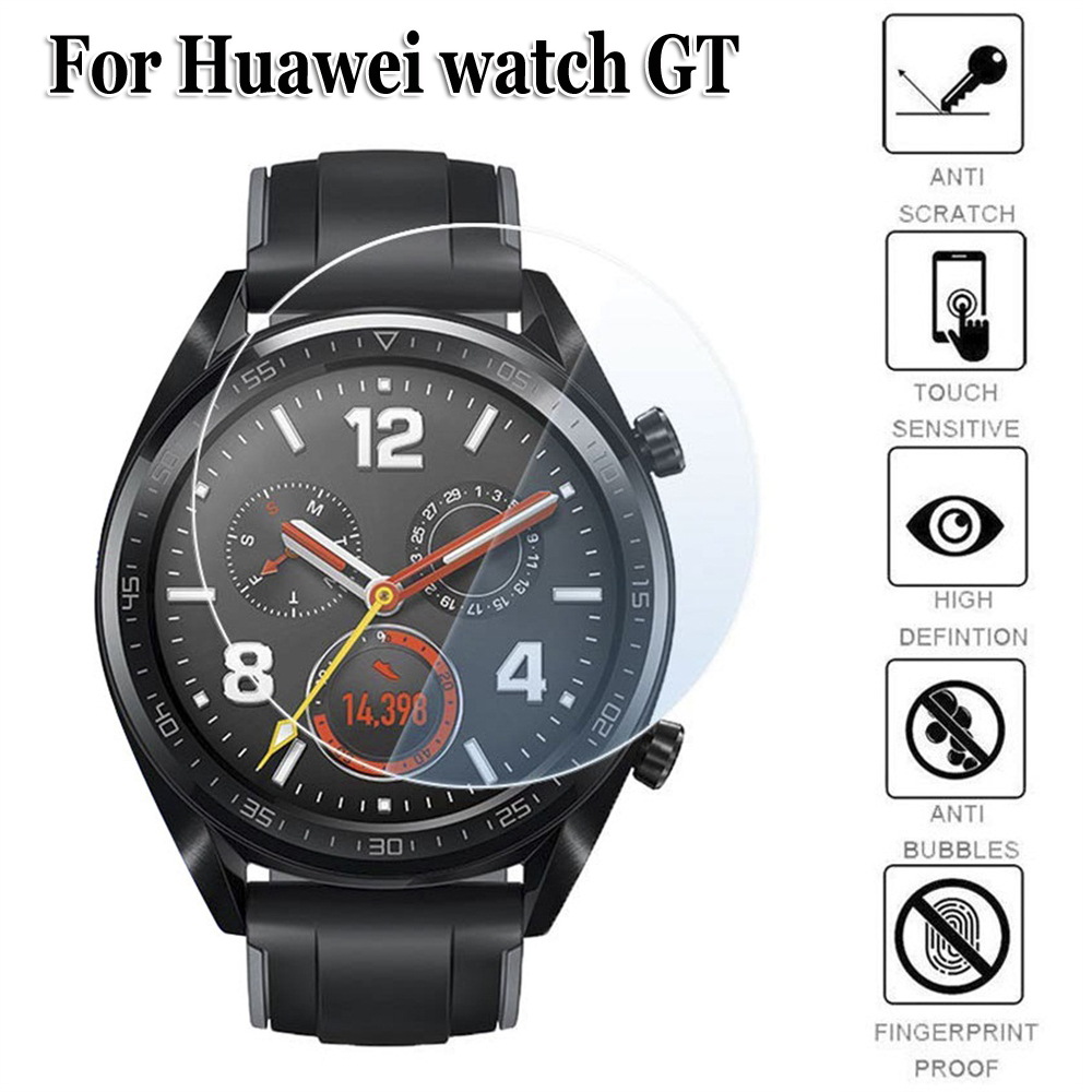 Cover Screen-Protectors Protective-Film Huawei Watch GT Tempered-Glass Shockproof