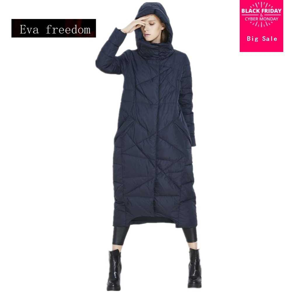 145a4c12e8 High-quality European and American big long thicker down jacket women  genuine female cold winter