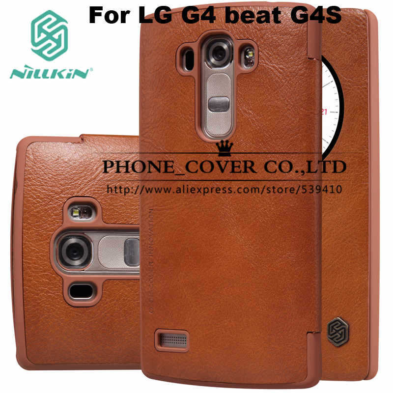Nillkin Genuine Leather Case cover For LG G4 Beat G4 S G4S 5 2 H736 phone