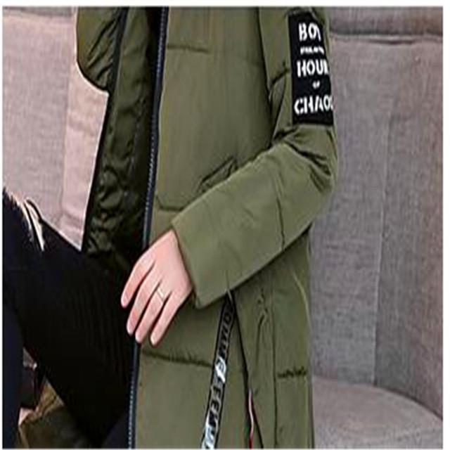 Fashion Winter Jacket Women 2018 Thick Warm Female Jacket Cotton Coat Parkas Long Feminina Plus Size 6XL Women Hooded CoatCQ2555