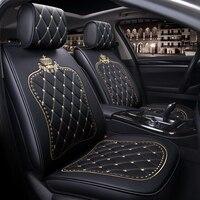 Чехол для сидения автомобиля сиденье автомобильное кожаный чехол для Гольф mk3 mk4 mk5 mk6 mk7 jetta 6 Lupo passat b3 b5.5 b6 b7 b8 passat cc