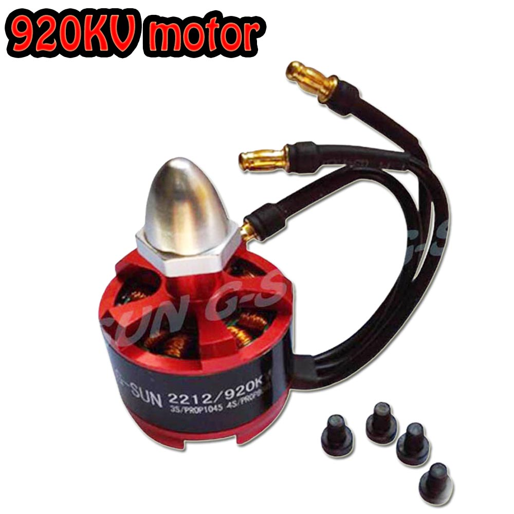 2212 920KV CW Brushless Motor for F330 F450 F550 X525 Quad Multirotor 2pcs cw ccw 2212 920kv brushless motor for f330 f450 f550 x525 multicopter