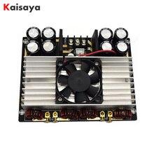 New TDA8954TH 420W + 420W Dual core Two channel Clasee AD Digital HIFI power Audio Amplifier Board with fan Amplificador E4 005
