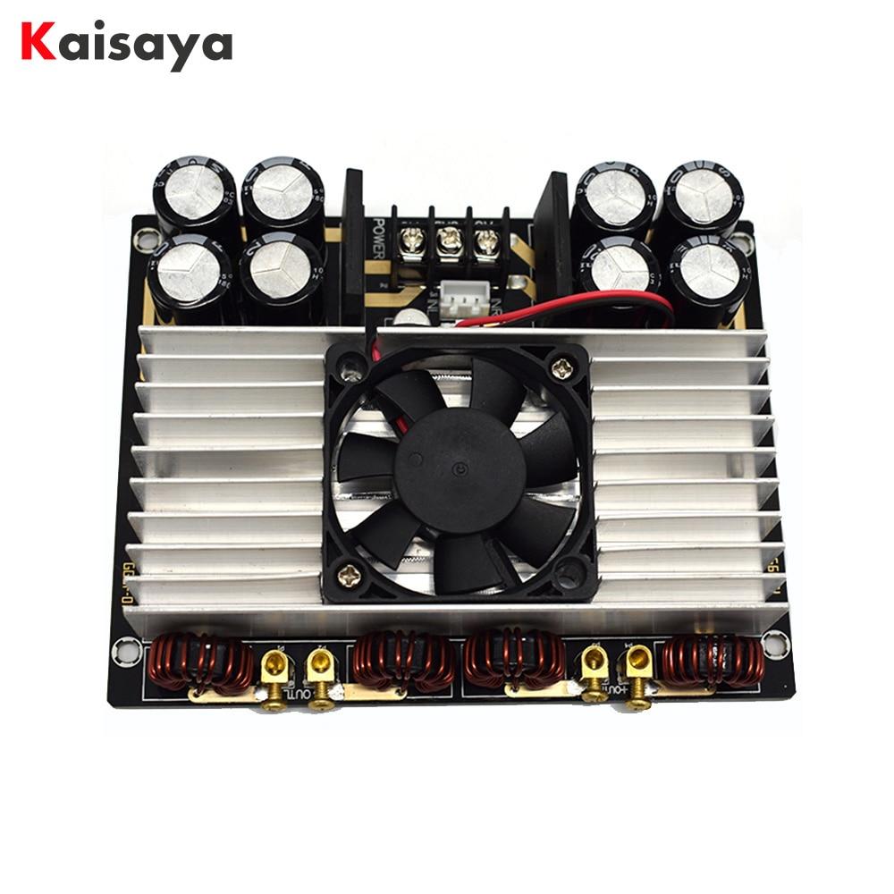 Nuovo TDA8954TH 420 w + 420 w Dual core A due canali Clasee AD HIFI Digitale Amplificatore di potenza Audio di Bordo con il ventilatore Amplificador E4-005