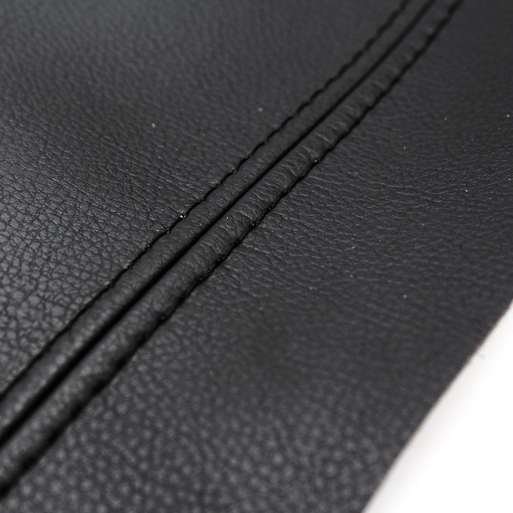 3pcs/Set Center Console Lid Armrest Box Microfiber Leather Protective Cover Trim For Honda Civic 10th Gen 2016 2017