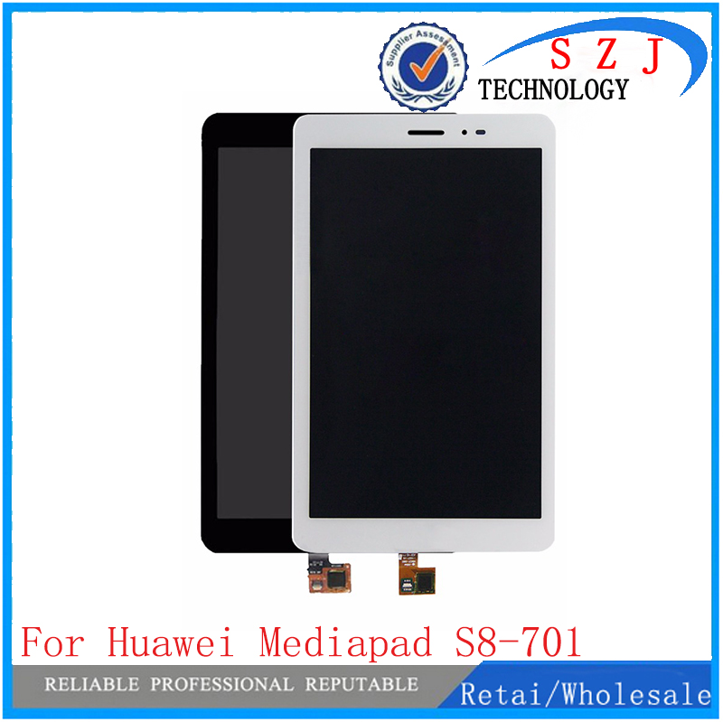 New 8'' For Huawei Mediapad T1 8.0 3G S8-701u Honor Pad T1 S8-701 Digitizer Touch Screen Sensor+LCD Display Panel Assembly lcd display glass panel touch screen digitizer assembly replacement parts for huawei mediapad t1 823l t1 821w t1 821l t1 821
