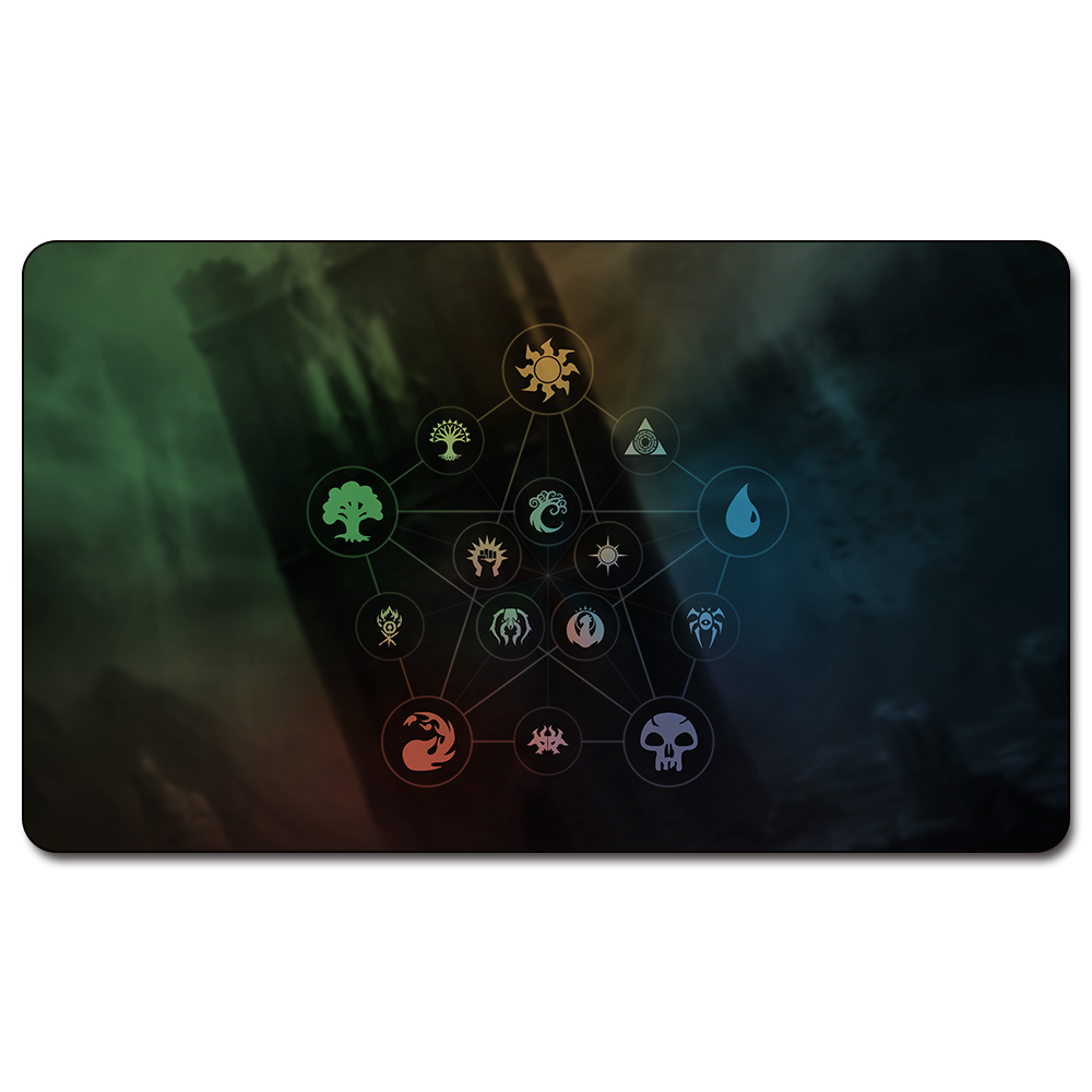 mana walking atlas 60x35 cm magie playmat walking atlas magie