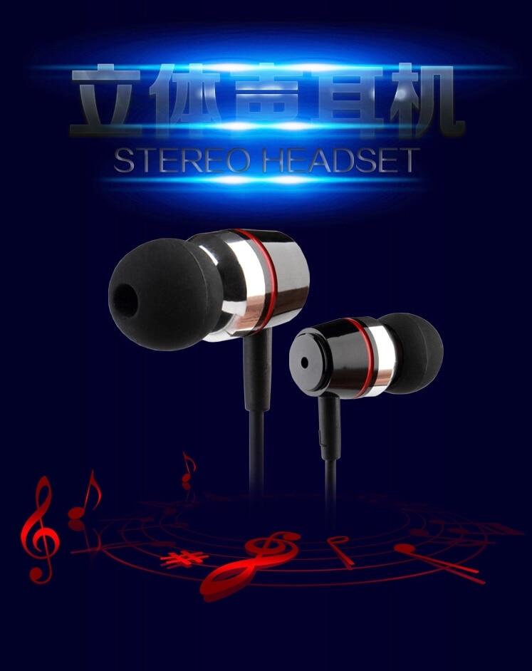 Original FQ001 super bass earphone Metal music headset for iPhone Xiaomi redmi note 5 pro samsung huawei sony phone pad psp mp3