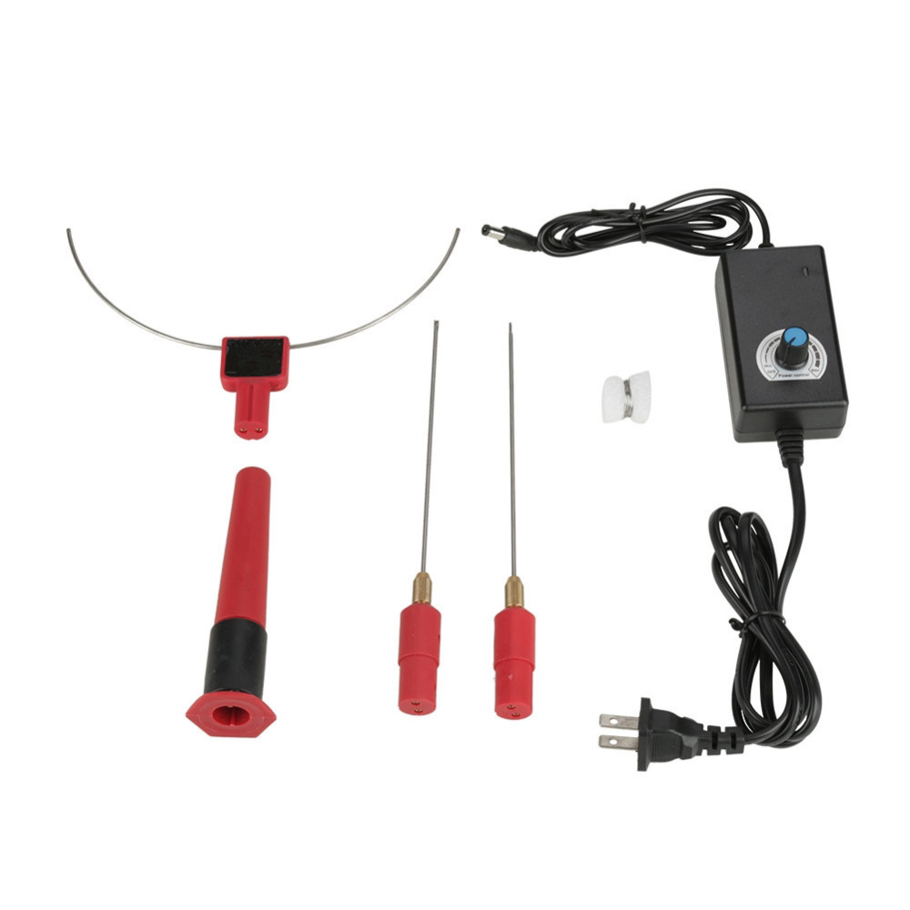 Hot Wire Cutter Knife Tool Set Electric Cutter Styro Foam Polystyrene Cutting Machine Hot Wire Knife