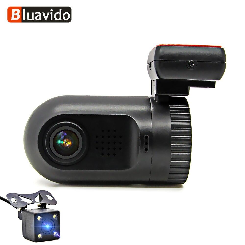 Bluavido Mini Car DVR 1296P Dashcam ADAS WDR Night Vision MSTAR Full HD 1080P Video Camera