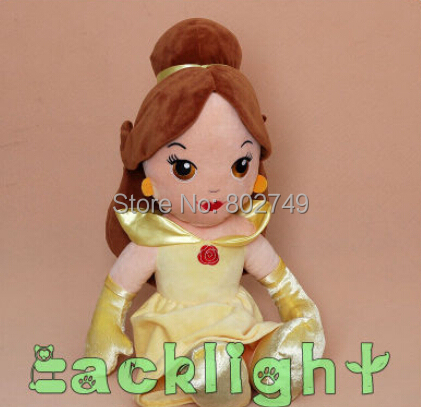 2014 Original Beauty and the Beast Belle Princess Stuffed Toys Girls Plush Dolls GiftsToys For Kids 32cm