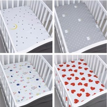 Fitted Sheets Soft Baby Bed Mattress Covers