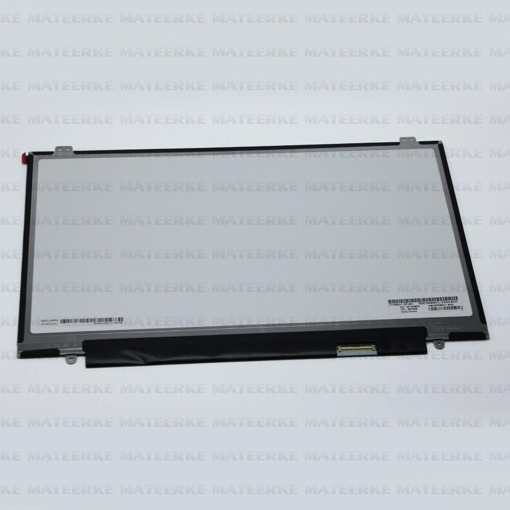 LP140QH1-SPB1 Laptop 14 2560X1440 Slim LCD LED Screen Display LP140QH1(SP)(B1) free shipping brand new 14 inch laptop lcd led screen b140qan01 b140qan01 1 2560 1440
