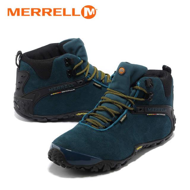 Merrell Bleu Pour de Air High Doublure Plein Fourrure Hommes Avec D'hiver Randonnée Sneakers Escalade Top Mountian Sport Bottes En Chaussures Lac 34L5jcqAR