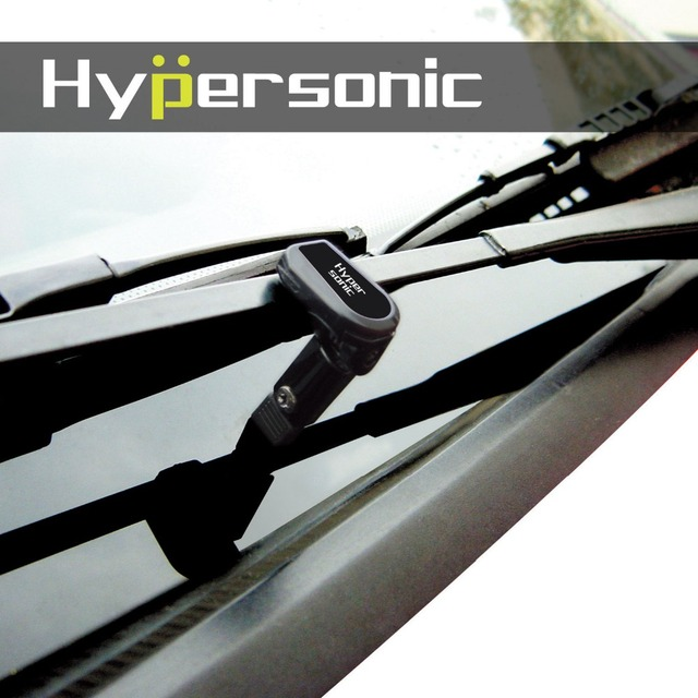 ¡Más nuevo! Hipersónico 2 piezas negro Universal coche parabrisas soporte de ForLeft mano el uso del vehículo HP-6406 accesorios de coche