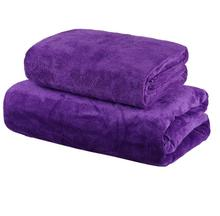 Bath towel set Barber shop absorbent dry hair microfiber car wash thickening beauty salon special bed