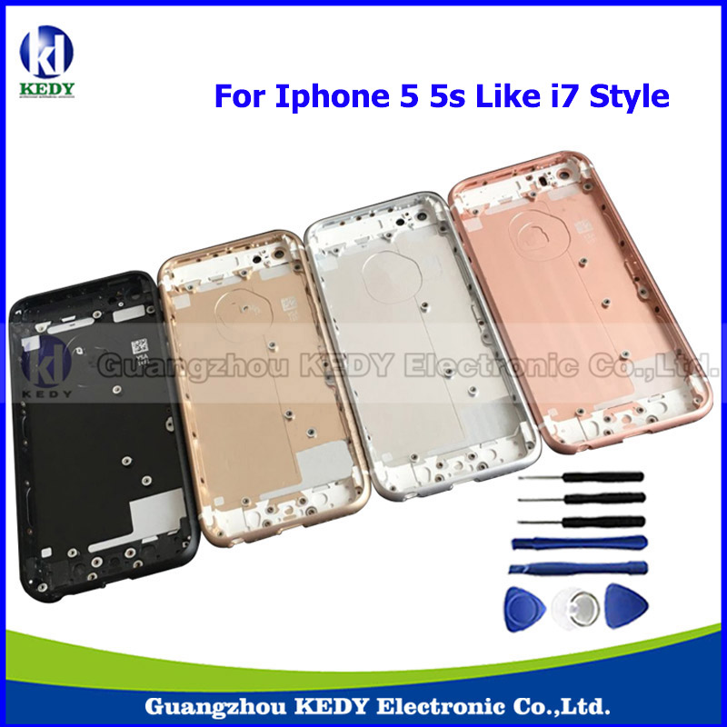 Original Metal Back Housing Rear Battery Door Cover for iPhone 5 5g 5s 4 0 Like