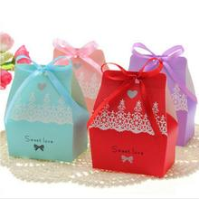 30Pcs/lot Paper Candy Box for Baby Shower,Birthday Party Wedding Candy Box Sweets Gift Favor Boxes Without Ribbon 20pcs lot new design drawer paper candy chocolate boxes baby shower gift packaging box birthday wedding party favor box