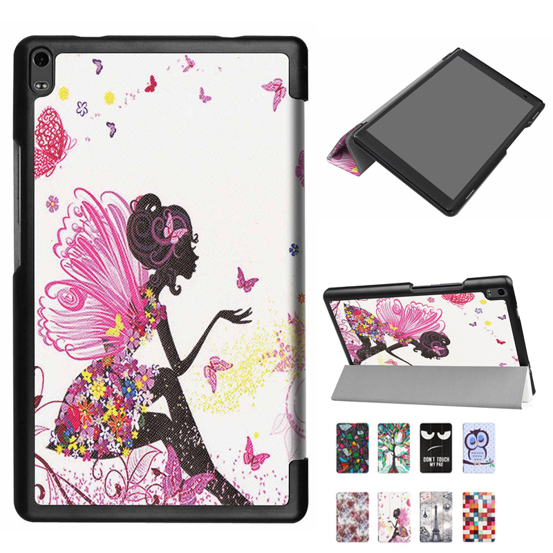 Ultra thin fashion Case for <font><b>Lenovo</b></font> Tab 4 8.0 plus 8704N 8704F PU Leather cover for <font><b>Lenovo</b></font> Tab4 8.0 PLUS TB-<font><b>8704</b></font> Tablet pc image
