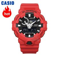 Casio watch G SHOCK Men's Quartz Sports Watch Cool Comfortable Resin Strap Waterproof g shock Watch GA 700