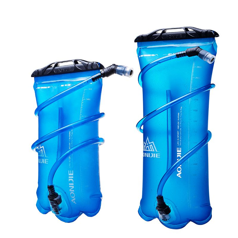 1.5L-3L Outdoor Sport TPU Water Bag Portable Men Women Camping Hydration Bladder Riding  ...