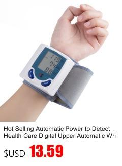 Gustala Automatic Digital Sphygmomanometer Wrist Cuff Arm Blood Pressure Monitor Meter Gauge Measure Portable Bracelet Device 12