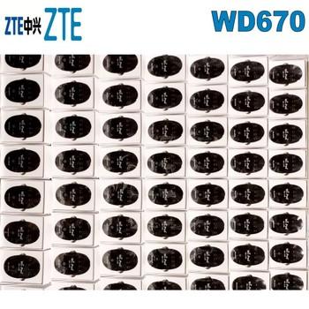 Odblokowany ZTE WD670 LTE Cat4 mobilny Hotspot WiFi FDD850 1800 MHZ i TDD2300MHZ tanie i dobre opinie wireless Zewnętrzny Zdjęcie Stock