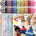 2016 Hecho A Mano Nepal pulseras con cuentas de cristal De Moda Los mejores regalos únicos 1 UNIDS Una variedad de colores de su elección