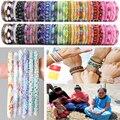 2016 Moda Artesanal do Nepal pulseiras de contas de vidro Os melhores presentes originais 1 PCS de Uma variedade de cores de sua escolha