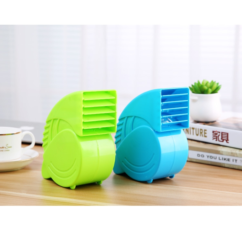 Portable Mini ABS Ventilator Cooling Desktop PC Dual Bladeless Air - Huishoudapparaten - Foto 2