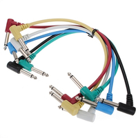 6X 1 4 To 1 4 Bass Guitar Effects Pedal Audio Patch AMP TS Cable Cord