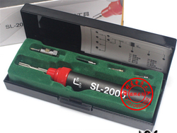 Taiwan HOTERY tile iron SL - 2000 k pen type gas iron iron 5 in 1 tool pure butane gas Pen-type Flame Solder Welding Tools