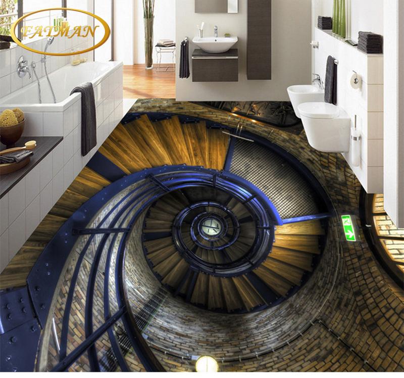 encargo de la foto d escalera de caracol piso saln bao impermeable resistente al