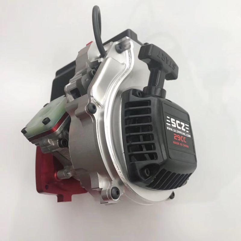 Actualización SCZ Raing 28.5CC 9HP Motor de lengüeta para coche 1/5 báscula Baja 5b 5 t 5sc Losi 5ive-t CD Redcat
