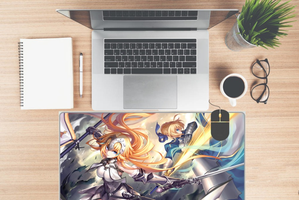 PINKTORTOISE Huge Mousepad Miss Kobayashi 39 s Dragon Maid Anime Mouse Pad knit Game Mat in Mouse Pads from Computer amp Office